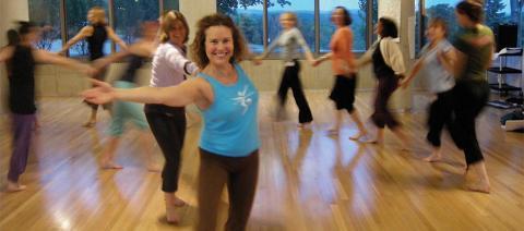 Megha Leading Let Your Yoga Dance