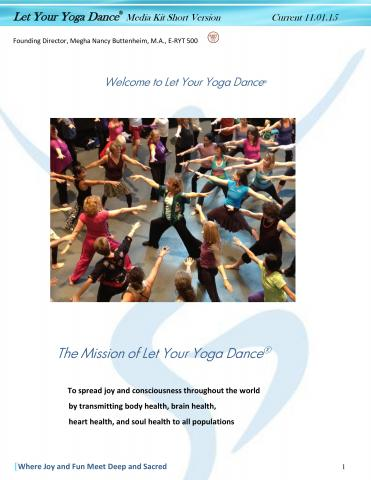 Let Your Yoga Dance Media Kit